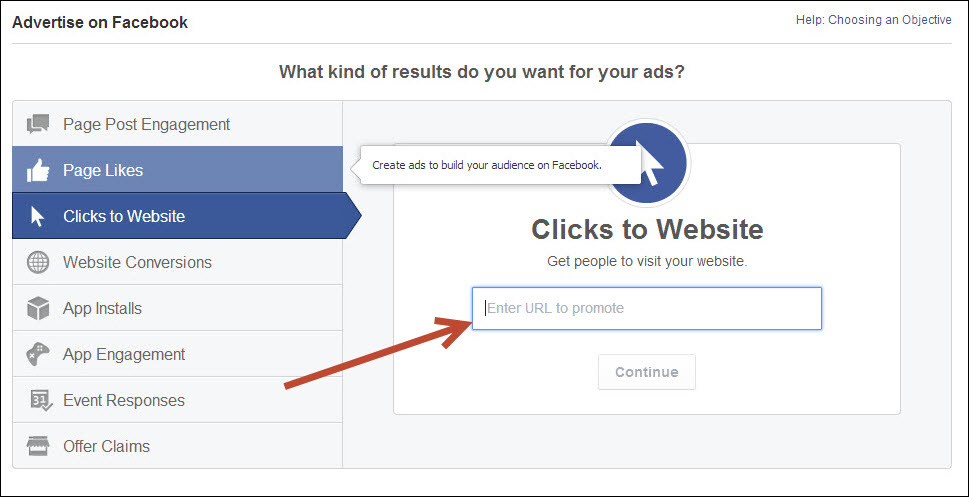 plastic surgeon marketing ad creation clicks to website screen