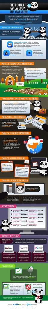 Panda update infographic